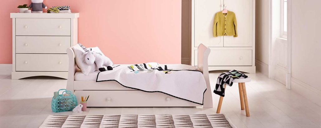 Oslo Nursery Furniture, toddler bed