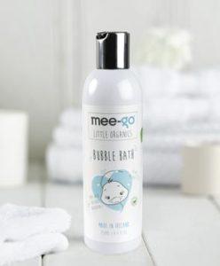 mee go little organics bubble bath