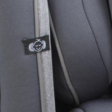 Swirl Steel Grey fabric option
