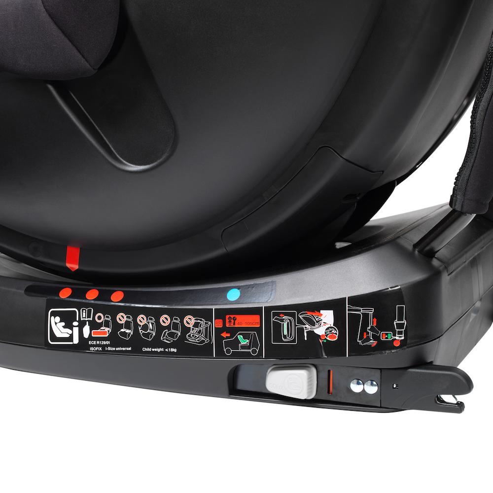 Mee-go Swirl 360° isofix car seat